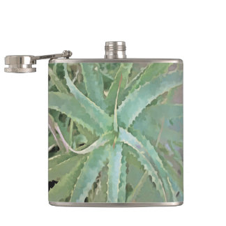 Amazing Aloe Vera Hip Flask
