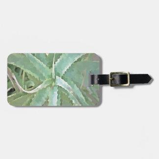 Amazing Aloe Vera Luggage Tag