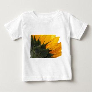 Amazing angle of a sunflower! shirts