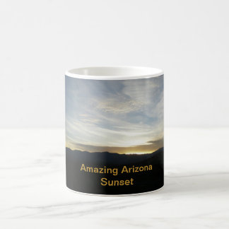 Amazing Arizona Sunset Basic White Mug