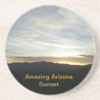 Amazing Arizona Sunset Drink Coaster