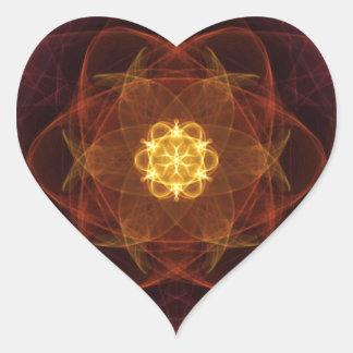 Amazing Art Heart Sticker
