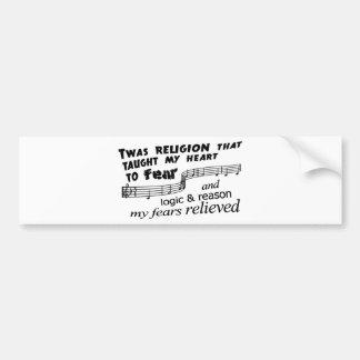 Amazing Atheism Bumper Stickers