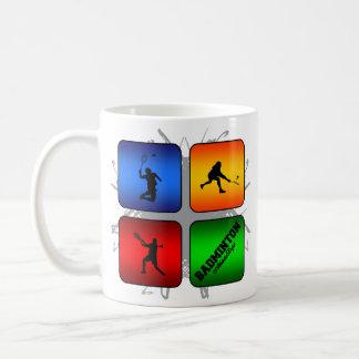 Amazing Badminton Urban Style Coffee Mug