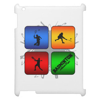 Amazing Badminton Urban Style Cover For The iPad 2 3 4