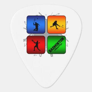 Amazing Badminton Urban Style Guitar Pick