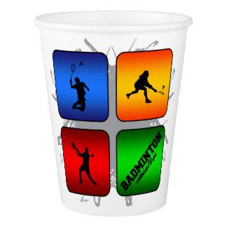 Amazing Badminton Urban Style Paper Cup