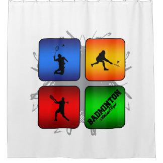 Amazing Badminton Urban Style Shower Curtain