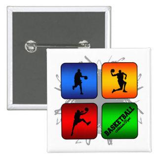 Amazing Basketball Urban Style 15 Cm Square Badge