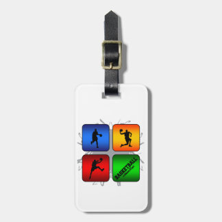 Amazing Basketball Urban Style Luggage Tag