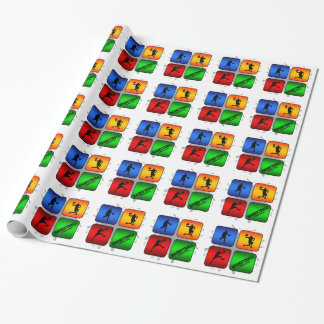 Amazing Basketball Urban Style Wrapping Paper