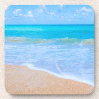 Amazing Beach Tropical Scene Photo Coaster