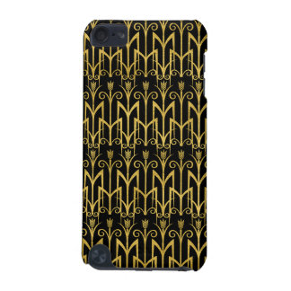 Amazing Black-Gold Art Deco Design iPod Touch (5th Generation) Covers