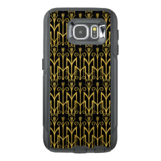 Amazing Black-Gold Art Deco Design OtterBox Samsung Galaxy S6 Case