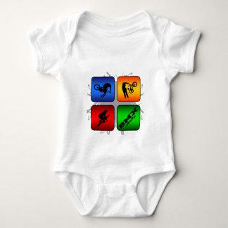 Amazing BMX Urban Style Baby Bodysuit