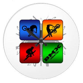 Amazing BMX Urban Style Large Clock