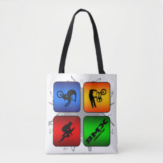 Amazing BMX Urban Style Tote Bag