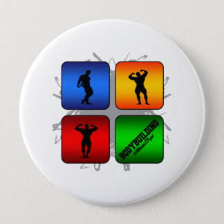 Amazing Bodybuilding Urban Style 10 Cm Round Badge