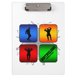 Amazing Bodybuilding Urban Style Clipboards