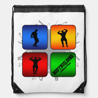 Amazing Bodybuilding Urban Style Drawstring Bag