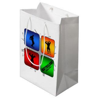 Amazing Bodybuilding Urban Style Medium Gift Bag