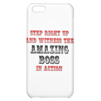 Amazing Boss In Action iPhone 5C Cases