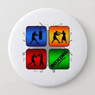 Amazing Boxing Urban Style 10 Cm Round Badge
