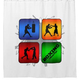 Amazing Boxing Urban Style Shower Curtain