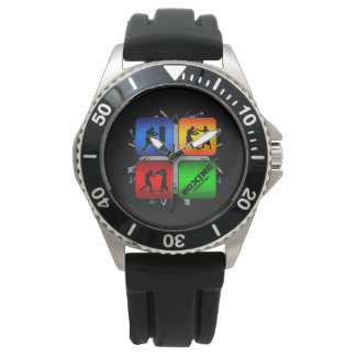 Amazing Boxing Urban Style Watch