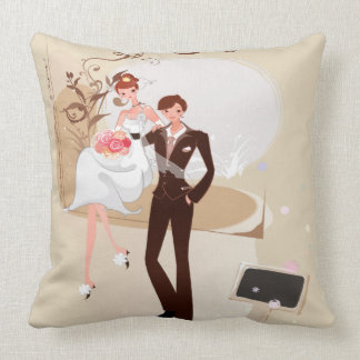 Amazing Bride and Groom - Pillow