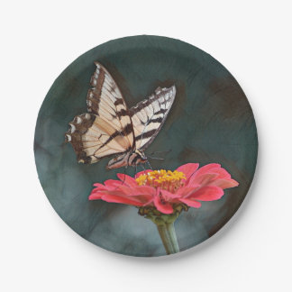 Amazing Butterfly Paper Plate
