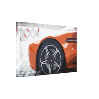 Amazing Car Wheels Canvas