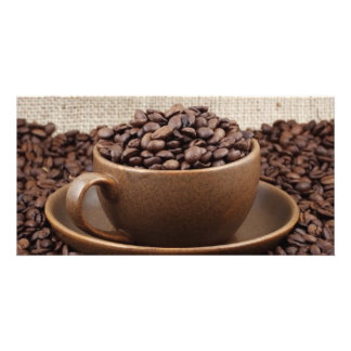 Amazing coffee personalised photo card