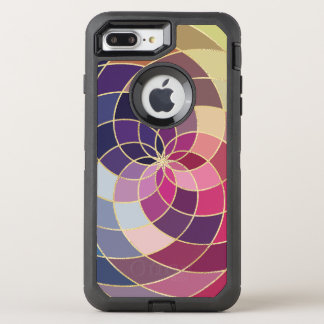 Amazing Colorful Abstract Design OtterBox Defender iPhone 8 Plus/7 Plus Case