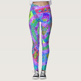 Amazing colourful leggings
