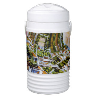 Amazing! Conceptual Space Colony! Science Fiction! Drinks Cooler