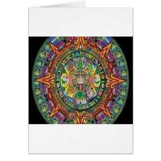 Amazing crystal weave design greeting card
