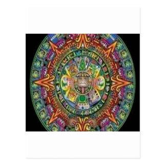 Amazing crystal weave design postcard