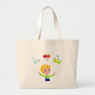 Amazing cute School boy : Tshirts Large Tote Bag