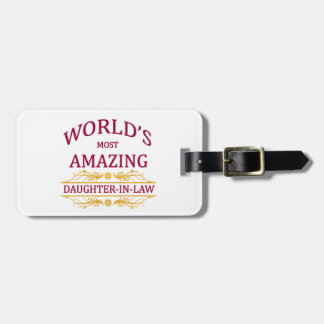 Amazing Daughter-In-Law Luggage Tag