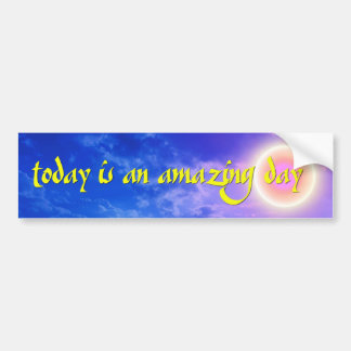 Amazing Day Bumper Sticker