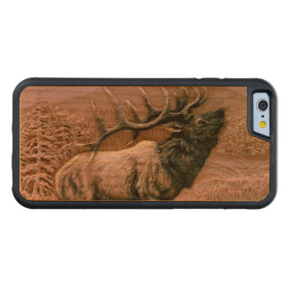 Amazing Elk Cherry Wood IPhone 6 Case