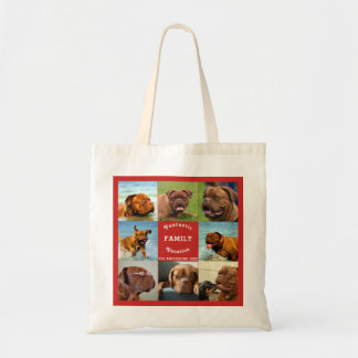 Amazing Family Trip Editable Photo Template Tote Bag
