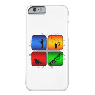 Amazing Fishing Urban Style Barely There iPhone 6 Case