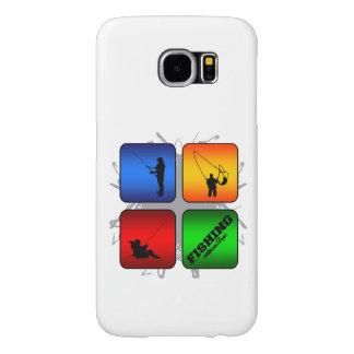 Amazing Fishing Urban Style Samsung Galaxy S6 Cases