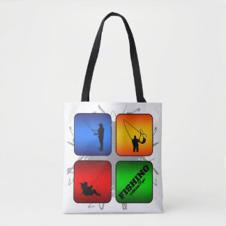 Amazing Fishing Urban Style Tote Bag