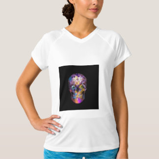 Amazing Floral Skull A T-Shirt