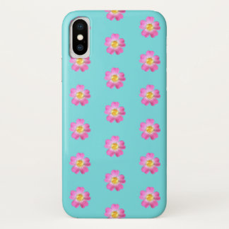 Amazing flowers with golden center iPhone x case