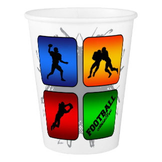 Amazing Football Urban Style Paper Cup