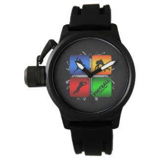 Amazing Football Urban Style Watch